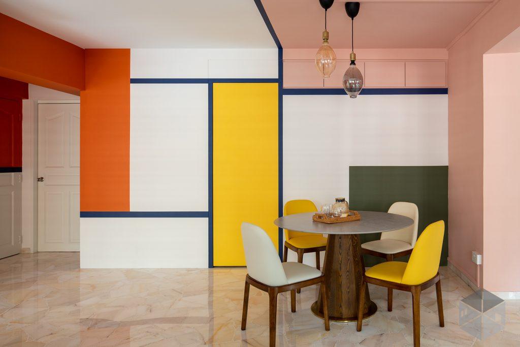 5rooms hdb resale color livingroom